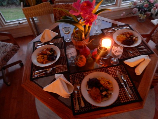 dinner with bert