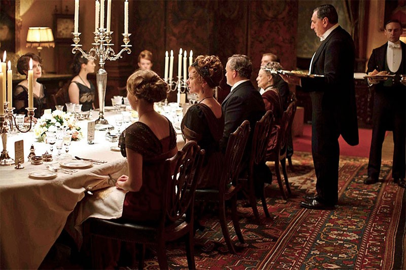 Table Manners: Downton Abbey Style