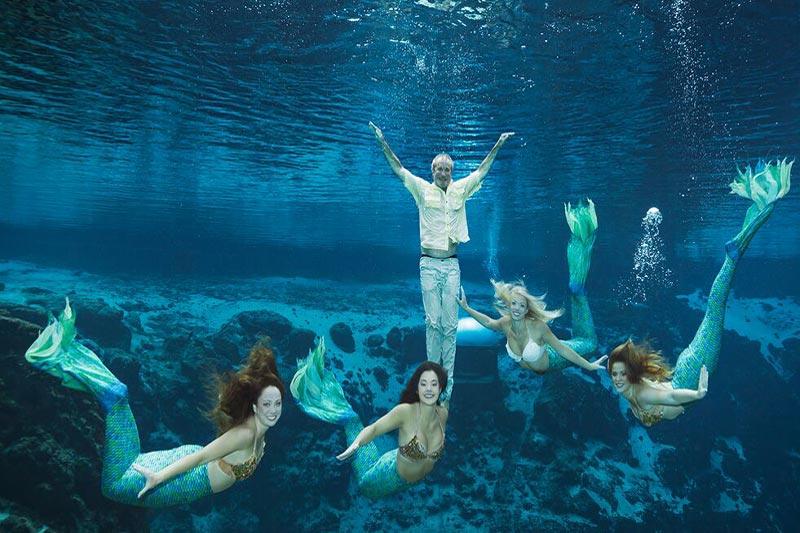 My Date with a Weeki Wachee Mermaid(s)