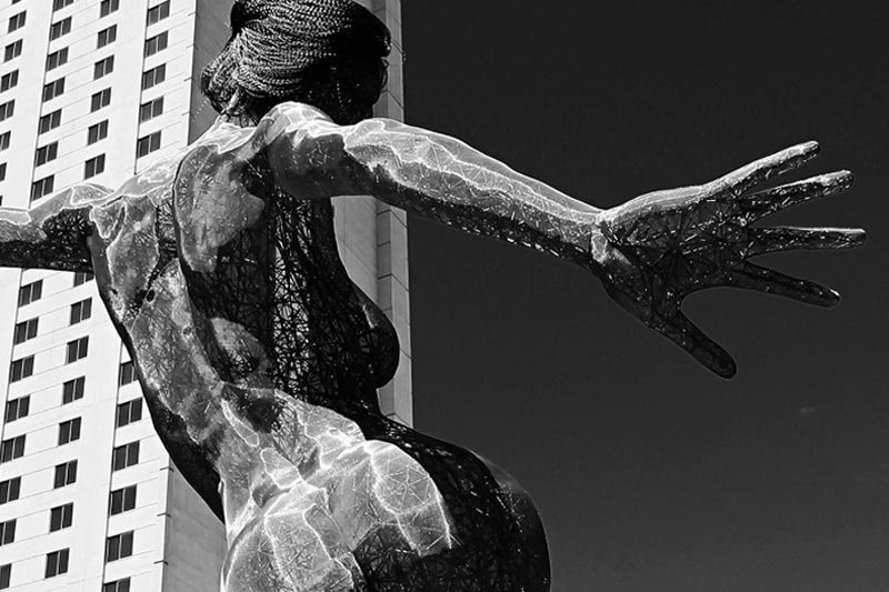 Poetry: The Marble Woman